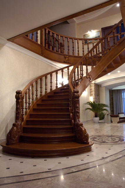 K1 traditional staircase