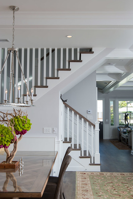 Kallis residence traditional staircase los angeles - Maison rogers sturz michael lee architects ...