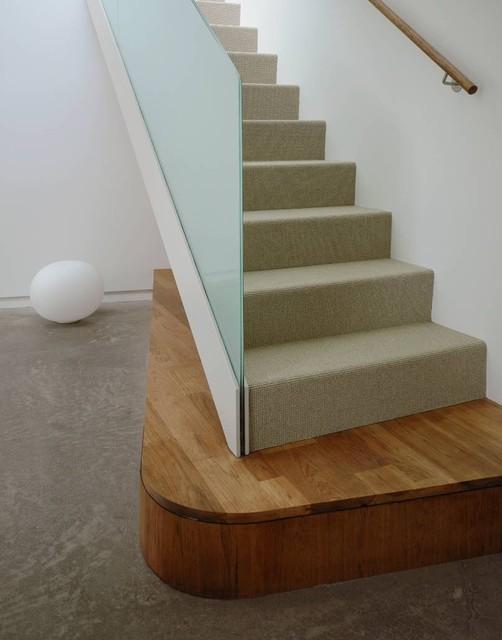 Kaplan Wright House LA modern-staircase
