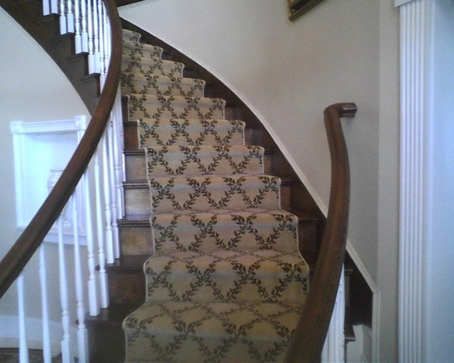 Amazing Karastan Custom Stair Runner Traditional Staircase