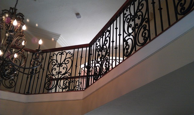 Katy Project Mediterranean Staircase Houston By