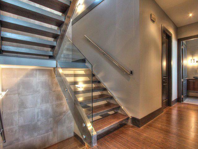 Kelowna Spec House 1 contemporary-staircase