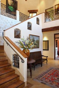 Kenilworth Road mediterranean-staircase