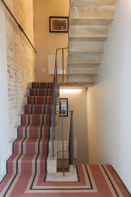 Tower Modern Staircase : Kennington water tower contemporary staircase london