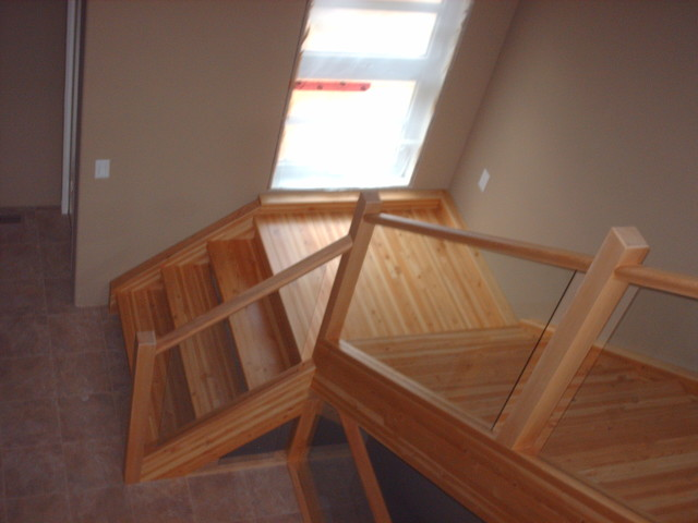 King project contemporary-staircase