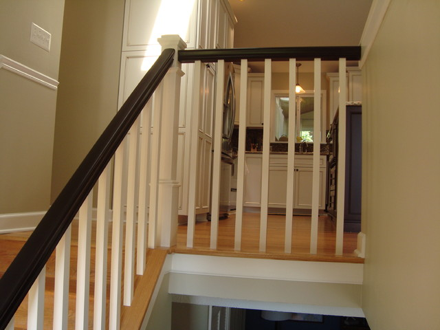 Split Foyer Stair Railing : Kitchen remodel annapolis split foyer home