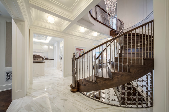 Kleinburg Private Residence transitional-staircase