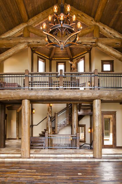 Kogan Builders rustic-staircase