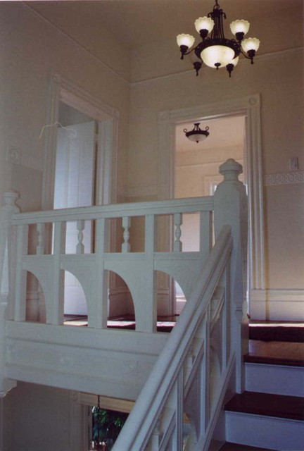 L.A. Paul & Associates, Architecture and Planning traditional-staircase