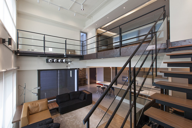 Lai Residence contemporary-staircase