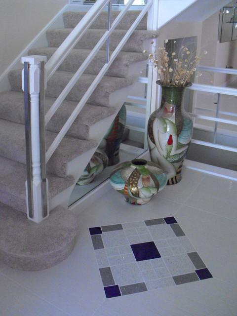 Lake Barrington Interiors modern-staircase