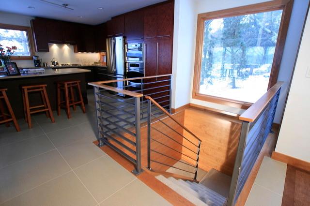Lake Carnelian, Stillwater contemporary-staircase