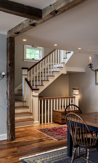 Lake House Traditional Staircase New York By Crisp