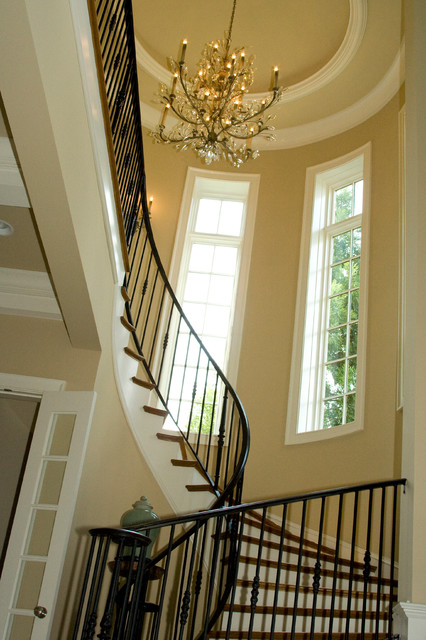 Lake Norman Waterfront traditional-staircase