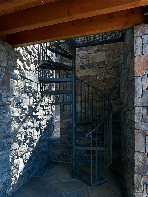 Lake Tahoe Residence contemporary-staircase