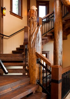 Lake view residence montagne escalier denver par for Chambre bebe denver