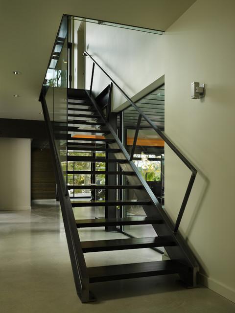 Lake Washington Residence Modern Staircase Seattle