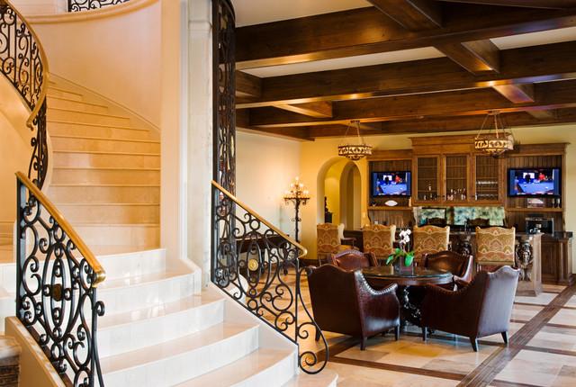 Gray Residence mediterranean-staircase