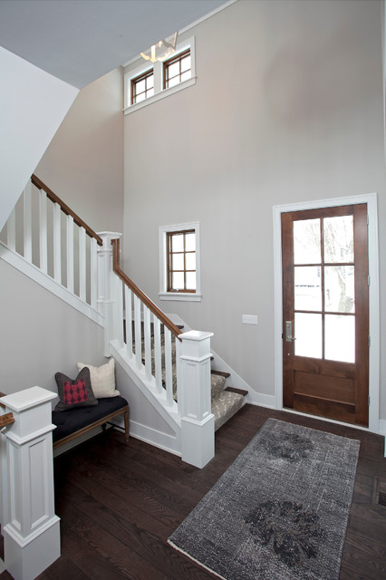 Lakeside Living transitional-staircase