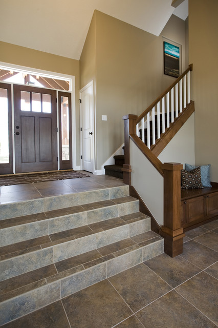 Lakeside Remodel traditional-staircase