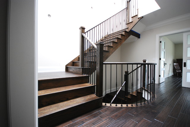 Lakeview traditional-staircase