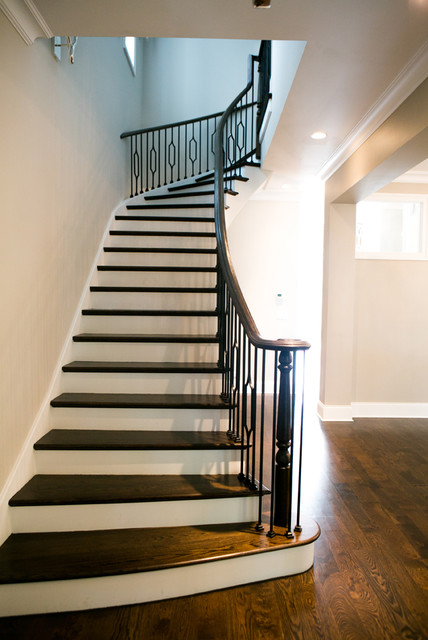 Lakeview Single-Family Home contemporary-staircase