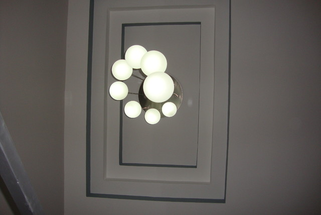 Lamp contemporary-staircase