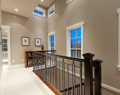 Landing contemporary staircase