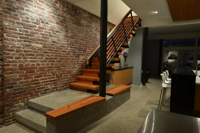 Lantern House - Reclaimed Wood Stairs contemporary-staircase - Lantern House - Reclaimed Wood Stairs - Contemporary - Staircase