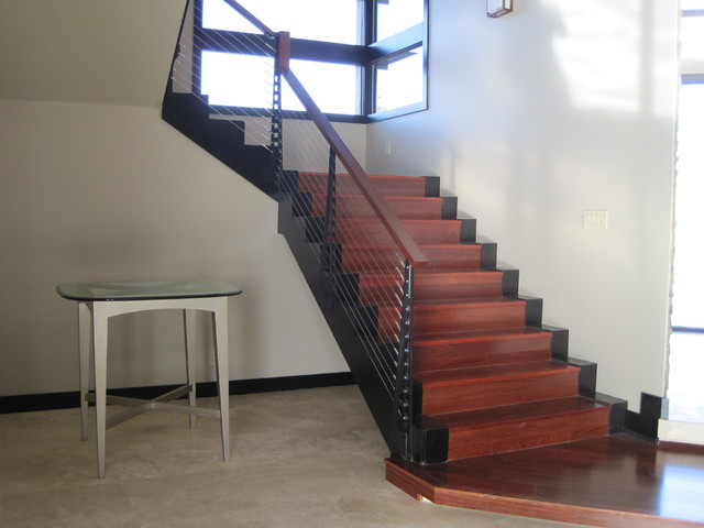 Awesome Las Vegas Home Stairs And Railings Contemporary Staircase