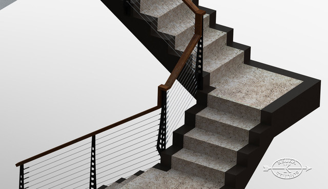 Las Vegas Home Stairs And Railings Contemporary