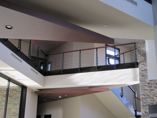 Las Vegas Home stairs and railings contemporary-staircase