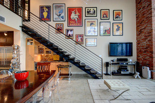 Las Vegas contemporary-staircase