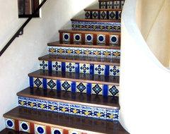 Latin Staircases mediterranean-staircase