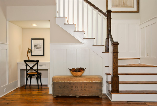 Laurel Low Country Infill Beach Style Staircase