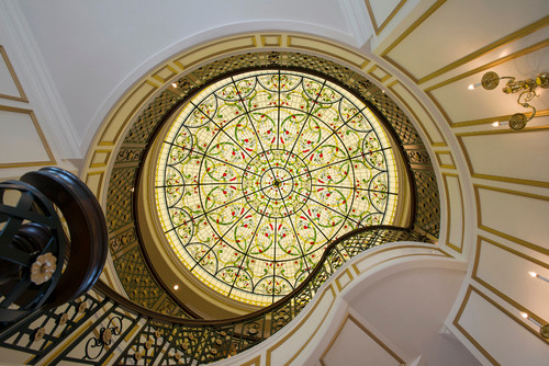 Leaded Glass Domes