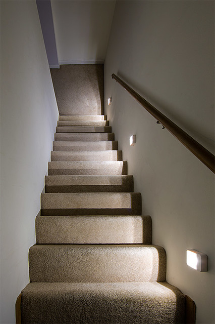Lighting Basement Washroom Stairs: LED Staircase Lighting