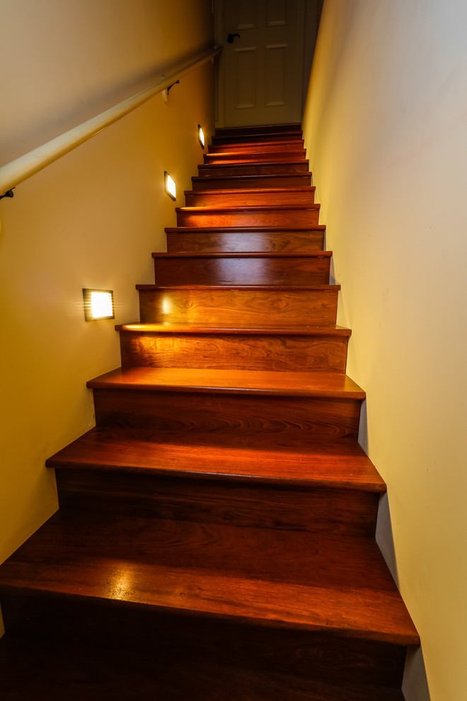 Example of a classic staircase design in St Louis
