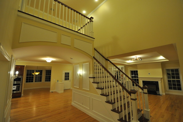 Lexington MA New Construction traditional-staircase