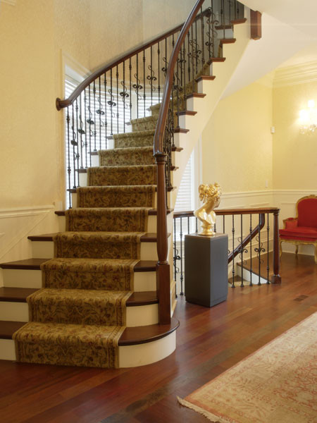 LLG Construction + Development contemporary-staircase
