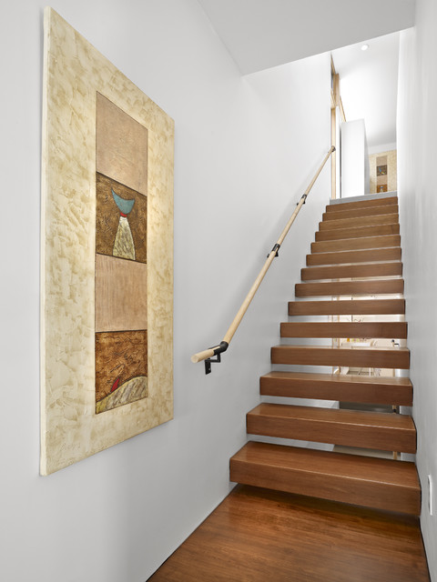 Lg house interior stairs modern staircase edmonton for Design house inc