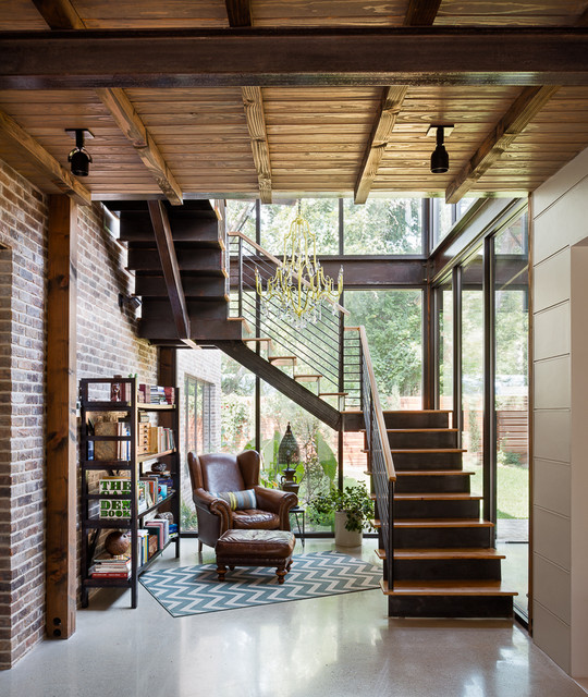 Liberty Rustic Staircase Austin By David Mills