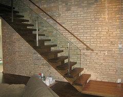 Lincoln Park Loft modern-staircase