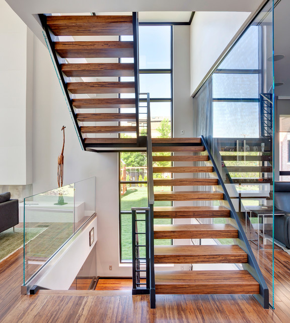 Lincoln Park Residence Contemporary Staircase
