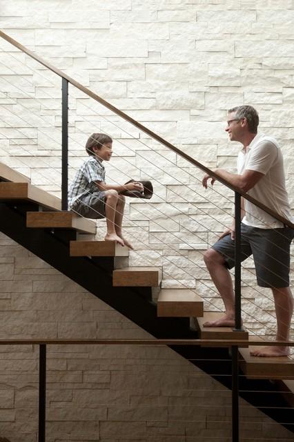 Linden Hills Contemporary contemporary-staircase