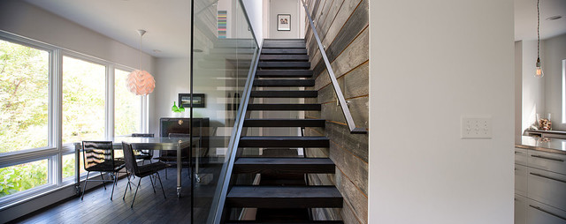 Linden Hills Remodel contemporary-staircase