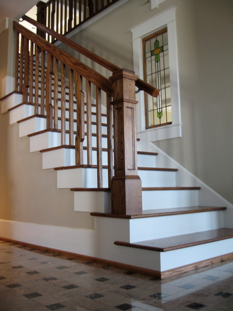 Beautiful Lindstrom Staircase And Trim Traditional Staircase