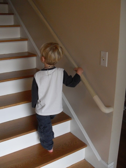 Portland Stair Company · Staircases U0026 Railings. Little Dude Handrail  Traditional Staircase