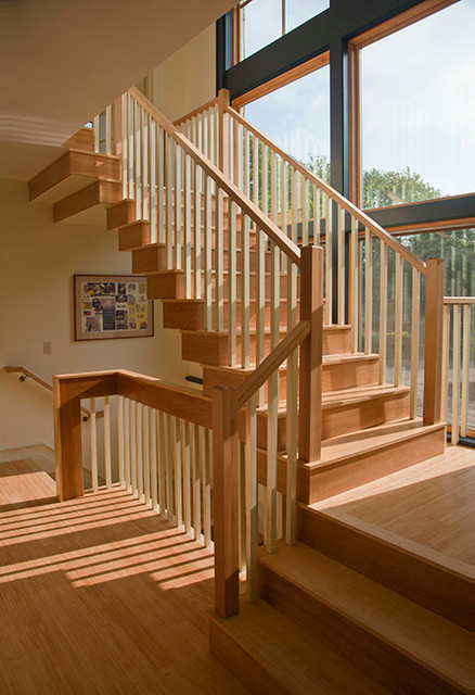 Little Sea Main House traditional-staircase