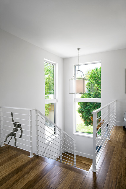 Live Oak contemporary-staircase